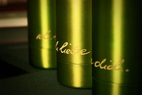 Trinkflasche | ichliebedich (grün)