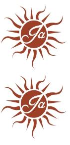 Tattoo: Ja (je 5 Stück)