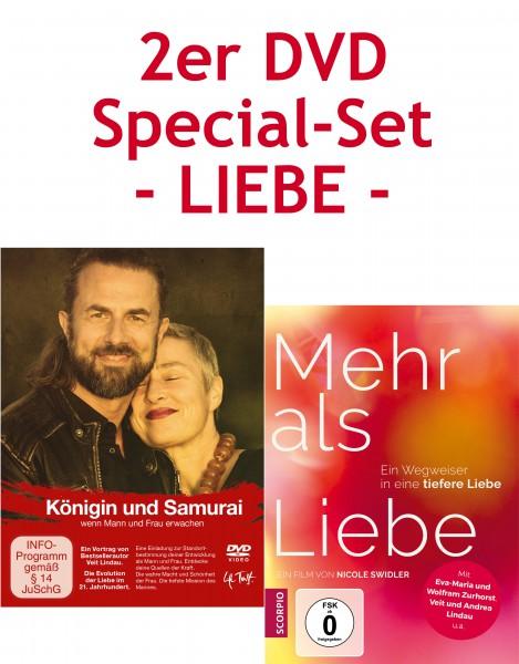 DVD Special-Set LIEBE - 1. Mehr als Liebe und 2. Königin und Samurai