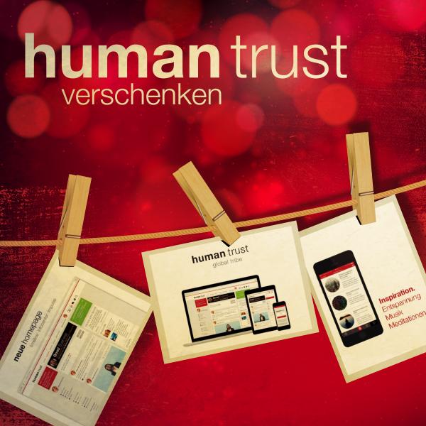 Geschenkgutschein für ein Jahr humantrust (PDF per E-Mail)