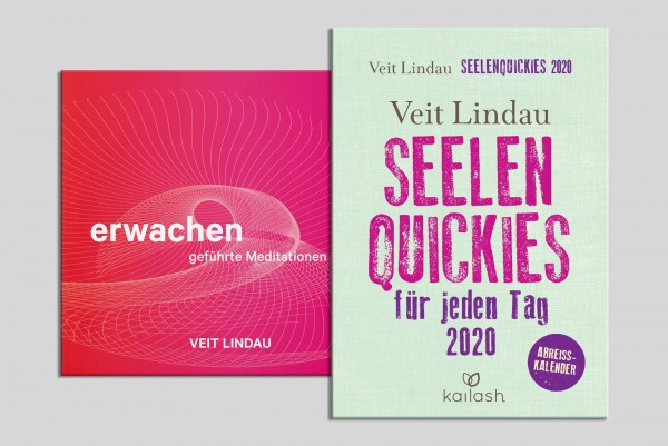Set ● Meditations CD ● Erwachen. (mp3 CD) + Seelen Quickies Kalender 2020 von Veit Lindau