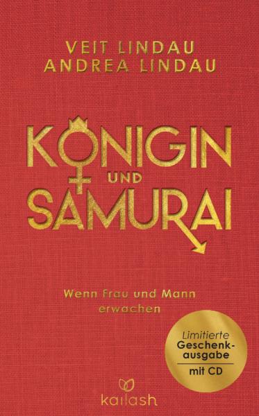 Königin & Samurai Buch - Limitierte Geschenkausgabe - inkl. Hörbuch